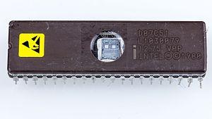 Intel MCS-51 - Intel D87C51 microcontroller