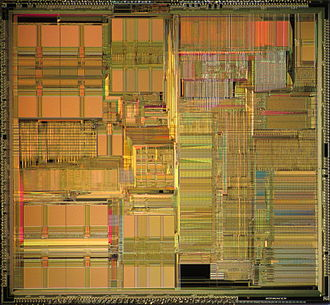 Pentium OverDrive - Die shot of Pentium OverDrive for 486 systems