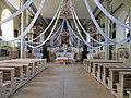 Interior of Zemale church 2021.jpg