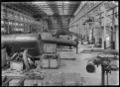 Interior view of one of the railway workshops, showing a firebox in the foreground ATLIB 313860.png