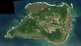 Iwo Jima Island of the Japanese Volcano Islands chain south of the Ogasawara Islands