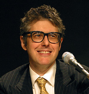 Ira Glass of This American Life giving a lectu...