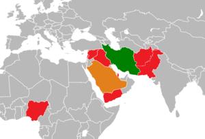 Iran Saudi Arabia Proxy Conflict Png