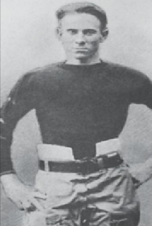 1915 College Football All-Southern Team - Rabbit Curry.
