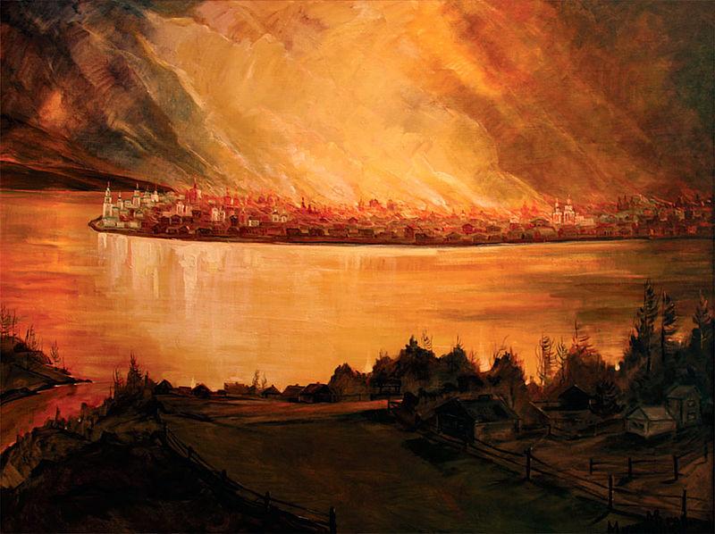 Irkutsk Fire 1879 Romanov.jpg