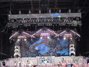 The Final Frontier World Tour - Image: Iron Maiden, olympiastadion, Helsinki, 8.7.2011 (26)