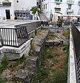 Isernia, piazza celestino V, scavi.jpg