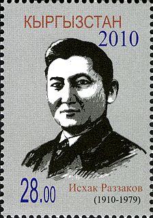 Iskhak Razzakov First secretary of Communist Party of Kirghizia
