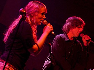Isobel Campbell - Campbell performing with Mark Lanegan in Barcelona, 2010