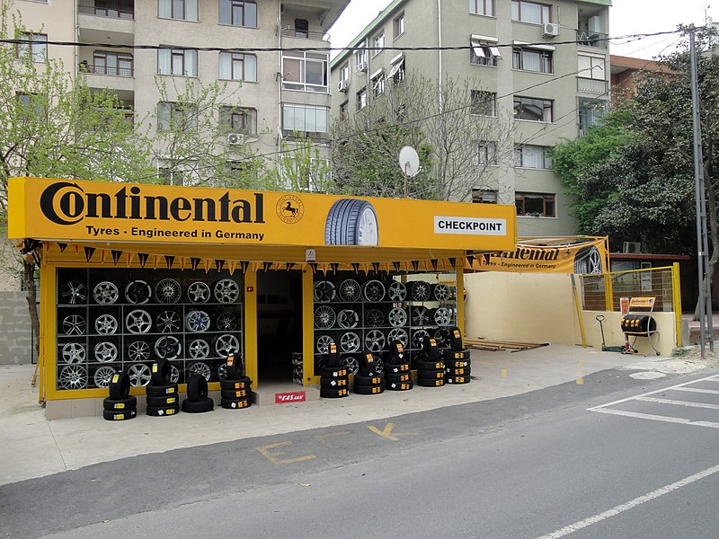 File:Istanbul Continental tyre shop.jpg