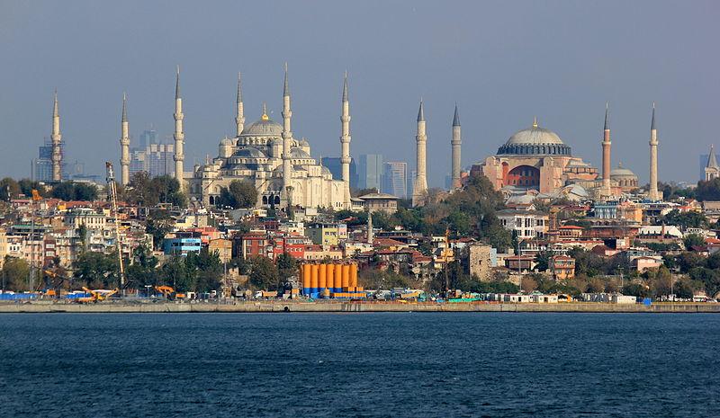 File:Istanbul Hagia Sophia Sultanahmed.JPG