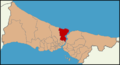 Istanbul location Sarıyer (after 2014).png