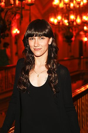 Elisa (Italian singer) - Elisa  at the 2012 Miami International Film Festival presentation of Someday This Pain Will Be Useful to You