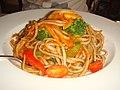 Italian vegetable pasta in Guido ^ Angelina Restaurant - panoramio.jpg