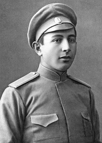 Ivan Bagramyan - Bagramyan in 1916 while he was serving in the Imperial Russian military.