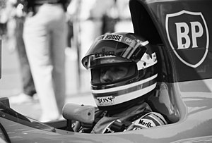 Ivan Capelli - Capelli in the cockpit of his Leyton House for the 1991 United States Grand Prix.