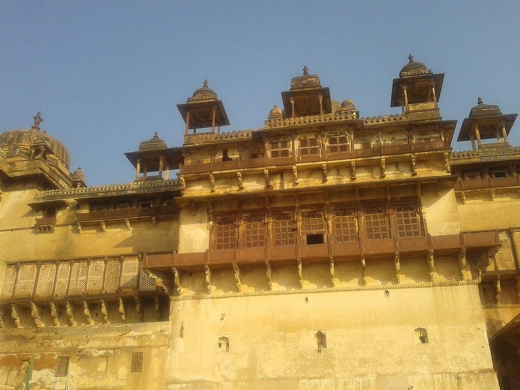 File Jahangir Mahal Orchha Tikamgarh Madhya Pradesh Jpg