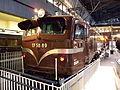 JNR EF5889 at Saitama railway museum.jpg
