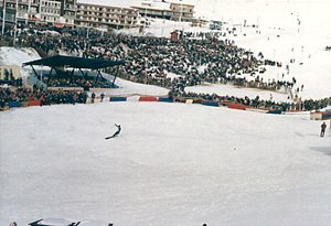 1968 Winter Olympics - Arrival of Jean-Claude Killy