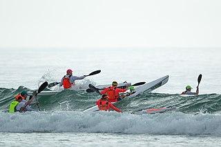 Surf ski Light boat that is paddled