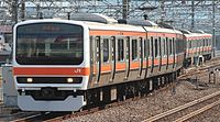JR East 209 Musashino Line M73 20150125.jpg