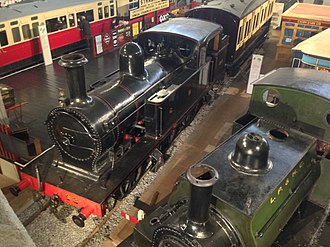 Steam locomotives of Ireland - Image: JT Class In Cultra