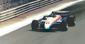 Pau Grand Prix - Jacques Laffite in F1 roadshow in Pau (1982)