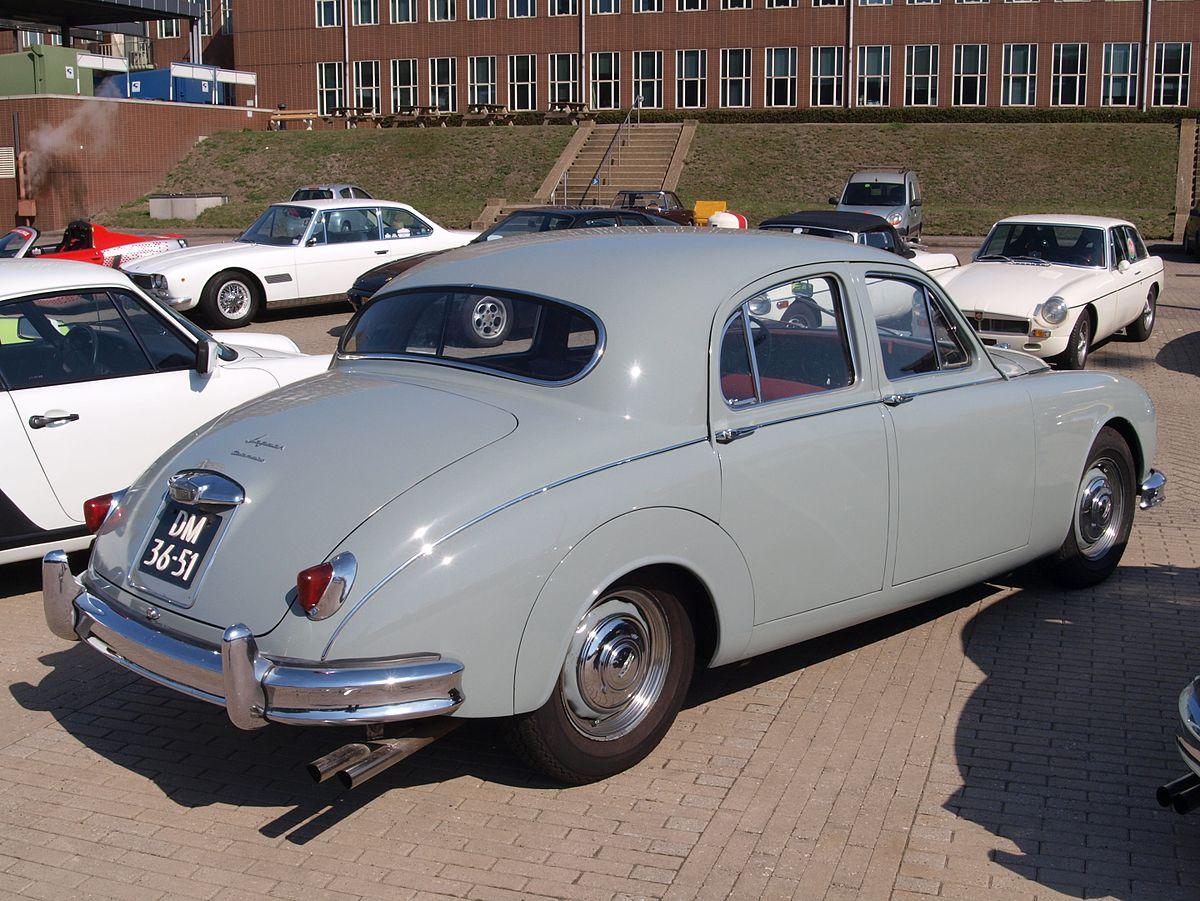 Datei:Jaguar Mark I (1957), Dutch licecence registration ...