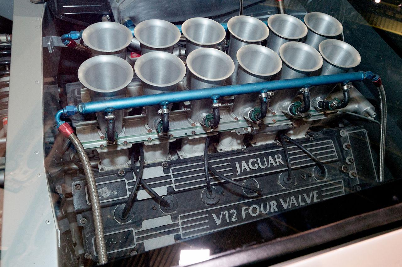 file jaguar xj220 v12 engine heritage motor centre  gaydon jpg