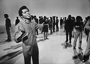 The Music Scene (TV series) - James Brown performing on the program, 1969