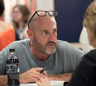 James Frey - Frey at BookExpo America on October 8, 2018