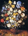 Jan Brueghel (I) - Bouquet in a Clay Vase - WGA3599.jpg