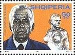Janaq Paço 2003 stamp of Albania.jpg