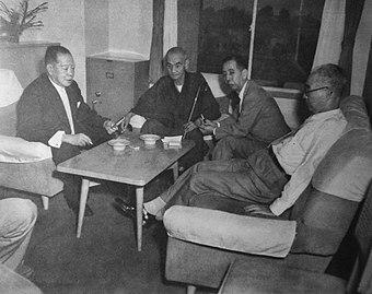 Hoshu-Gōdō-Treffen, Juli 1955