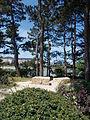Japanese Garden. Buda Hills at back. - Margaret Island, Budapest, Hungary.JPG