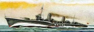 Japanese destroyer Tokitsukaze underway, circa 1941 (painting).jpg