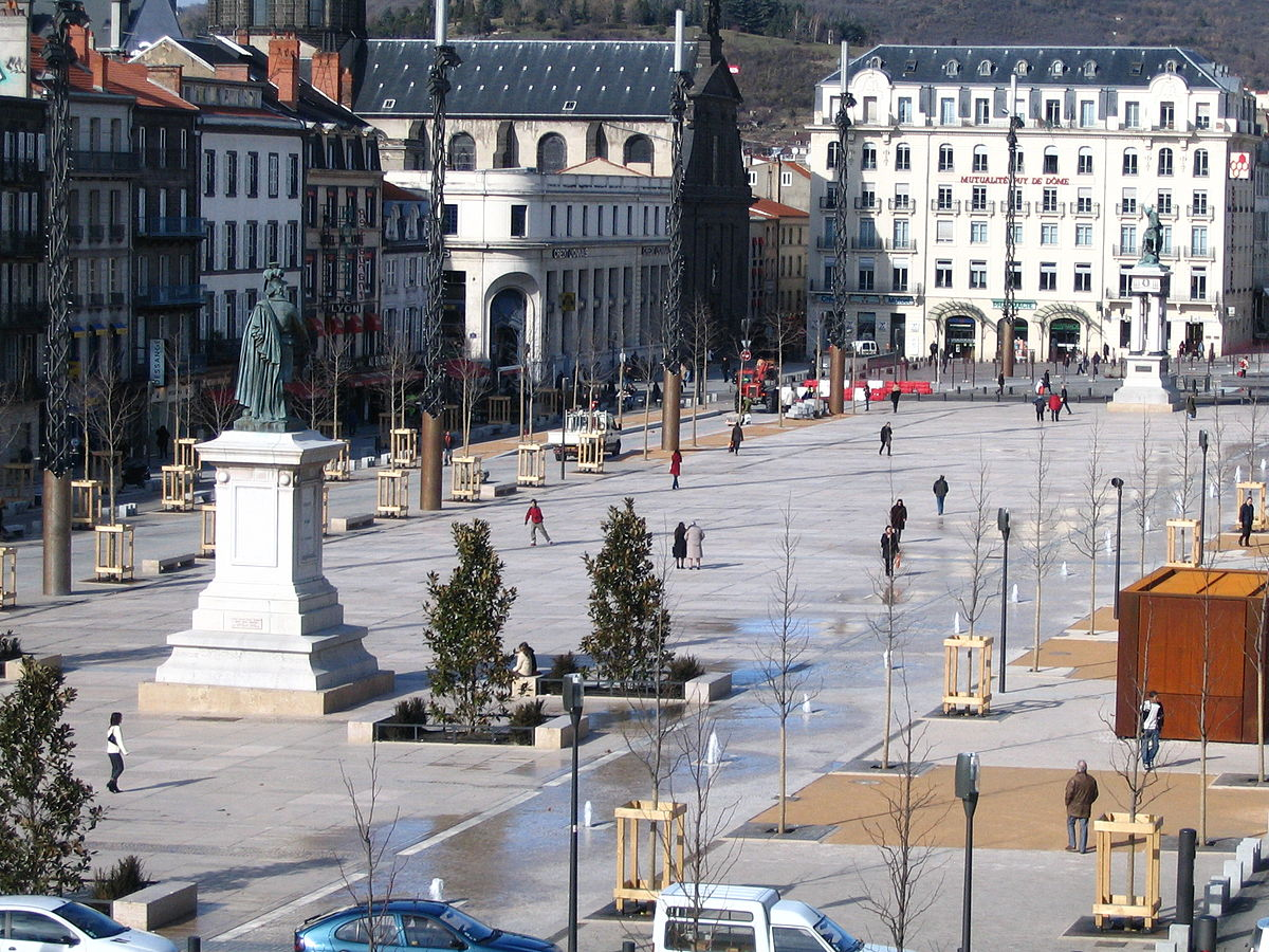 place de jaude wikipedia. Black Bedroom Furniture Sets. Home Design Ideas