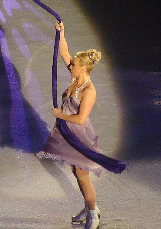 Jayne Torvill - Torvill on the Dancing on Ice tour in Manchester, 2010