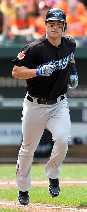 Jayson Nix - Nix while with the Toronto Blue Jays in 2011.