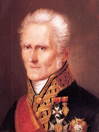 Battle of Ayohuma - Leader of the victorious royalist forces, Spaniard General Joaquín de la Pezuela.