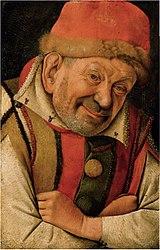 Jean Fouquet: Portrait of the court jester Gonella