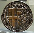 Jean marende, medagli di filiberto II di savoia e margherita d'austria, 1502 ca., 02.JPG