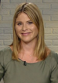 Jenna Bush Hager American journalist, author, and television personality