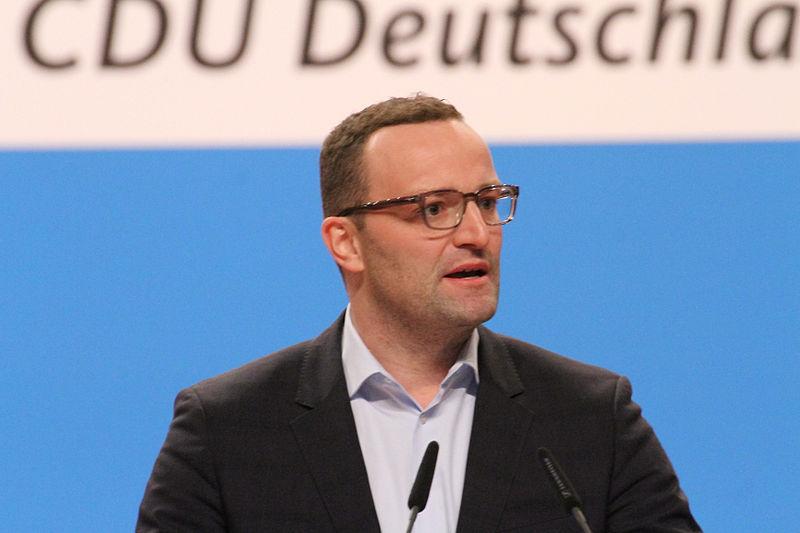 File:Jens Spahn CDU Parteitag 2014 by Olaf Kosinsky-4.jpg