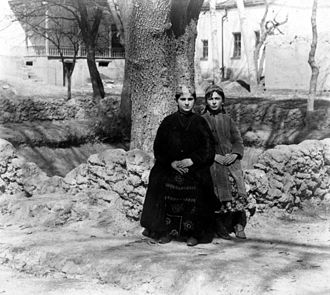 Bukharan Jews - Bukharan girls in Samarkand, ca 1900