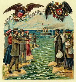 Jewish immigration Russia United States 1901