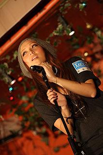 Jill Vidal Hong Kong pop singer