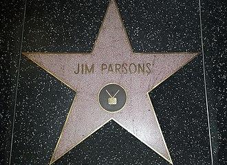 Jim Parsons - Jim Parsons Hollywood Walk of Fame Star