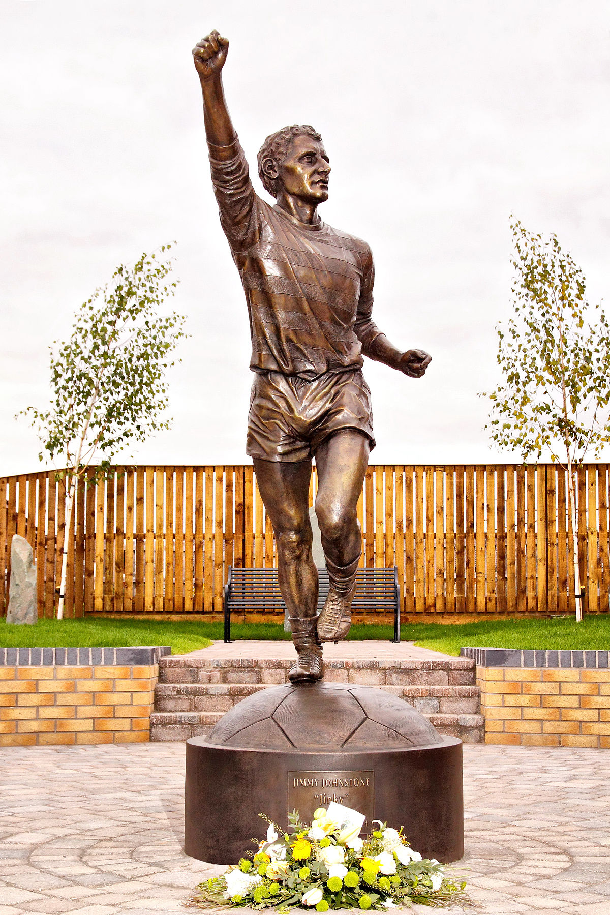 Jimmy Johnstone Lord of the Wing