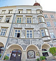 Jindruchev Hradec - Haus am Markt - Sgraffito - Panorama.jpg